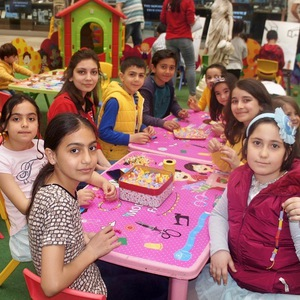 The School of Arts event was held at ÖzdilekPark Antalya Mall at the weekend.